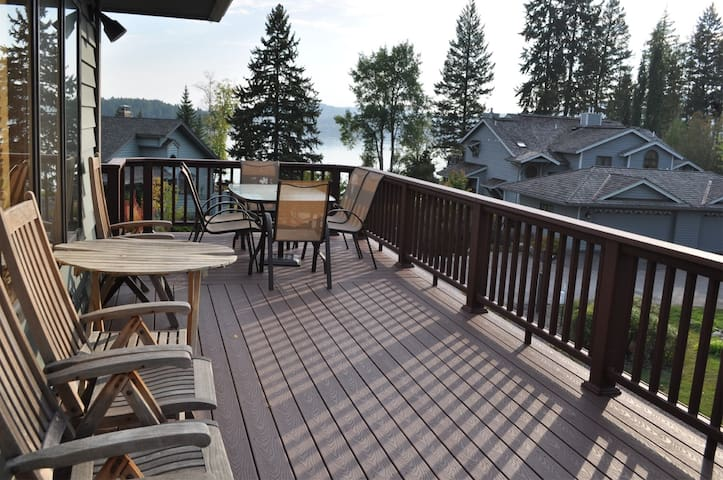 Mountain Harbor 137 - Whitefish Lake Views and Rent-able Boat Slip