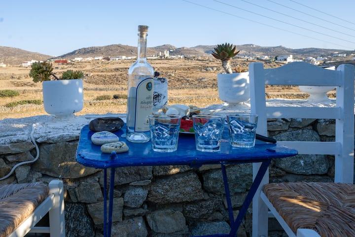 Afroditi's House at Ftelia beach (ALLNEW)