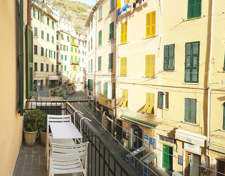 CinqueTerre Charming Room with Terrace in downtown
