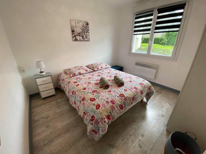 Logement lumineux, spacieux et calme (flexible)