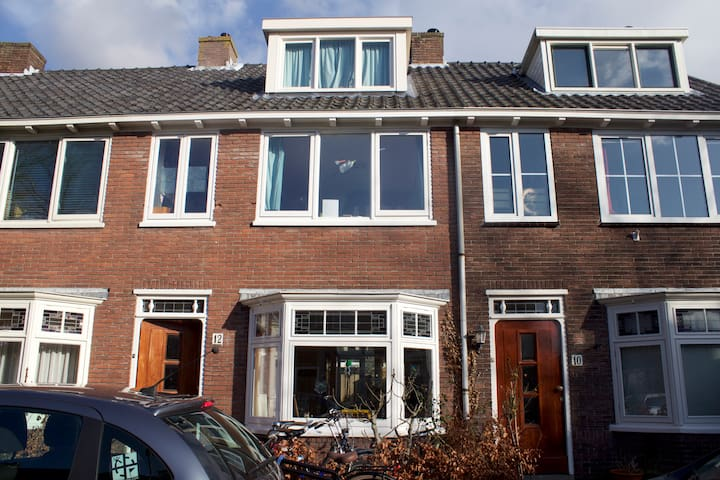 Home w garden near Amsterdam & beach