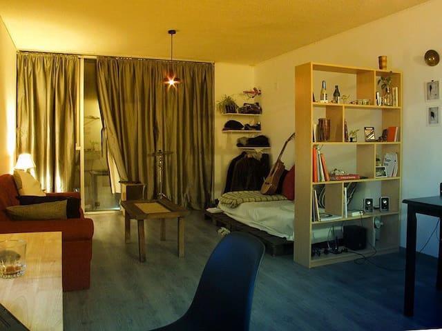 Mono-ambiente tipo loft en Montevideo