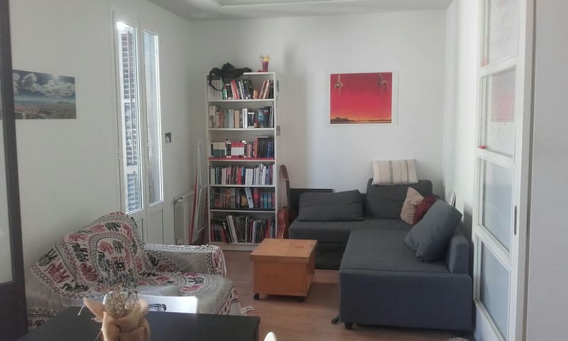 Cozy room in beautyful flat - Barcelona - Lägenhet