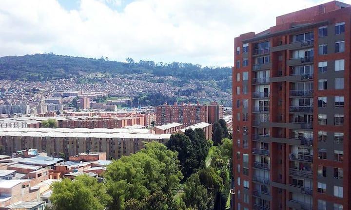Confortable habitación en Bogotá