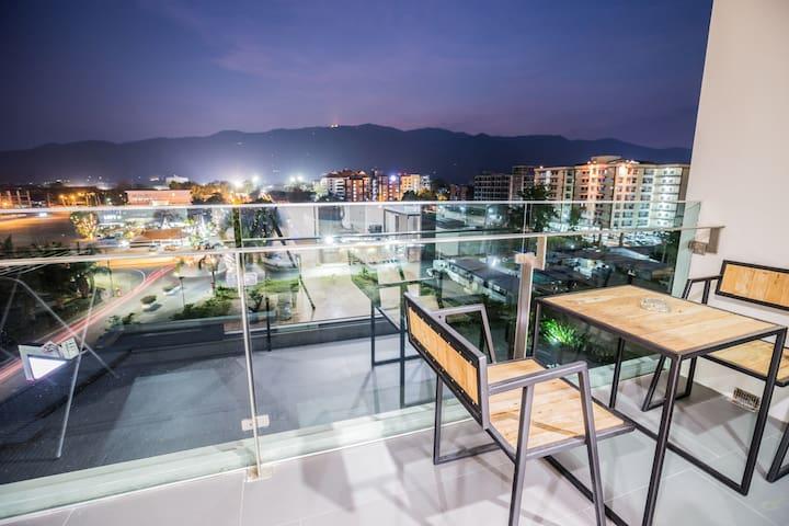 NewMountainView1BR@NimmanRd+Wifi - Chiang Mai - Apartament