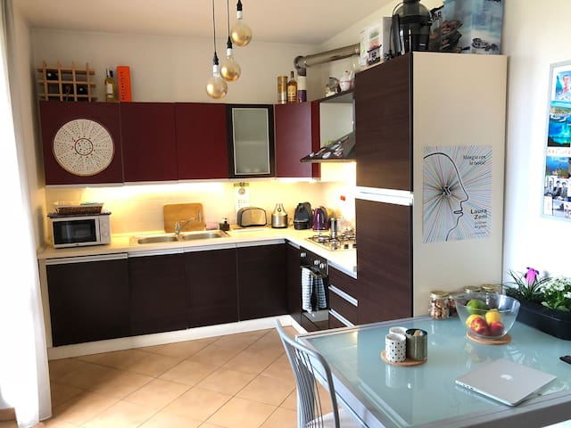 Nice flat near Lake Maggiore and Milan