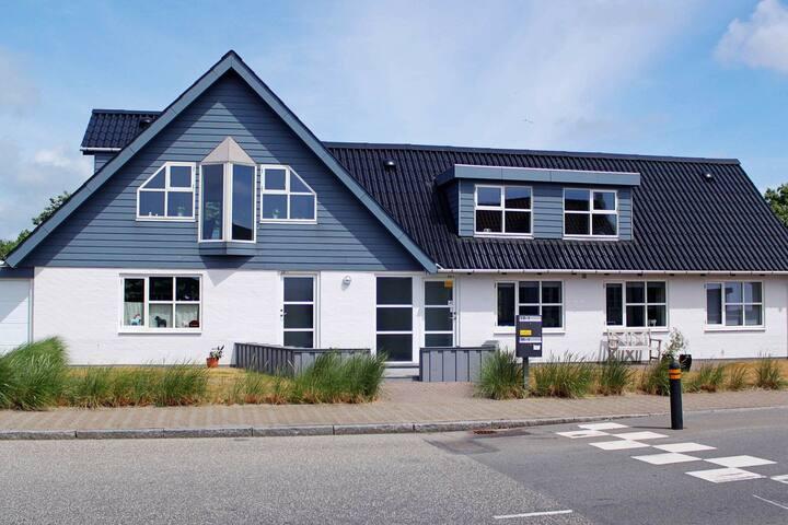 Casa de vacaciones lujosa en Jutlandia, cerca del mar