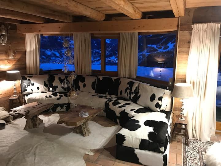 Chalet de luxe 200 m2 10 pers La Rosiere