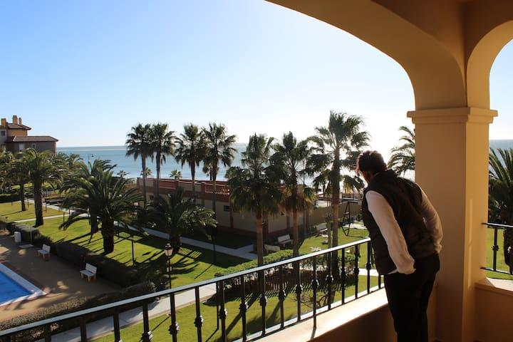 Apartamento en primera línea de playa - Huelva
