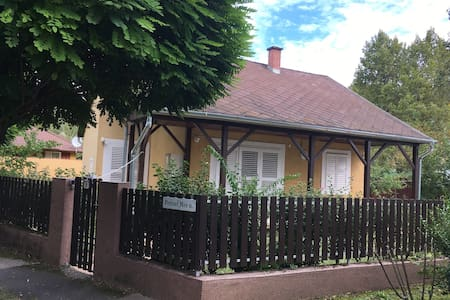 Cozy cottage 500m from the lake - Siófok