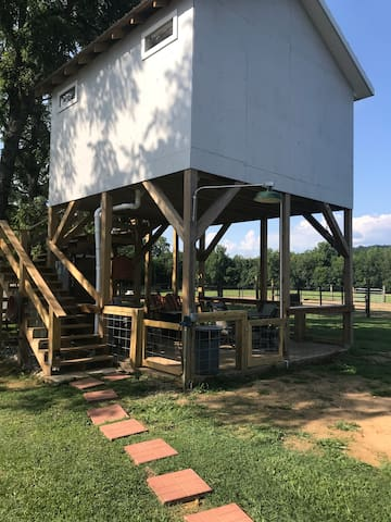 Treehouse Venue and covered patio