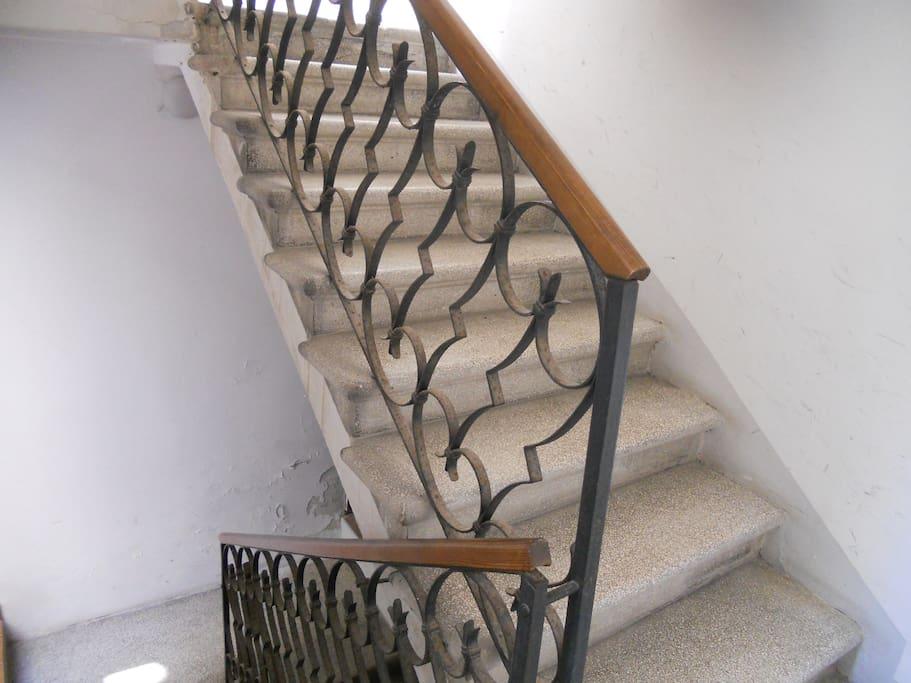 Building stairs (2nd floor)