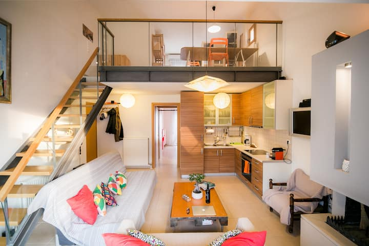 New modern dual-aspect loft