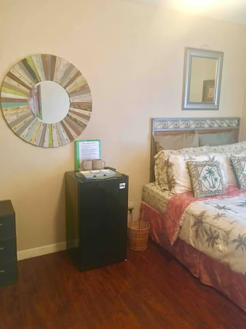 A mini fridge for you in your room.
