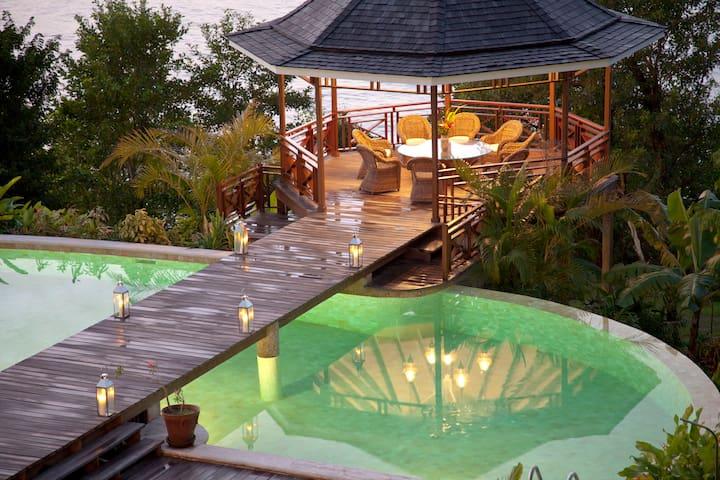 Villa Les Jolies Eaux of Marigot Bay