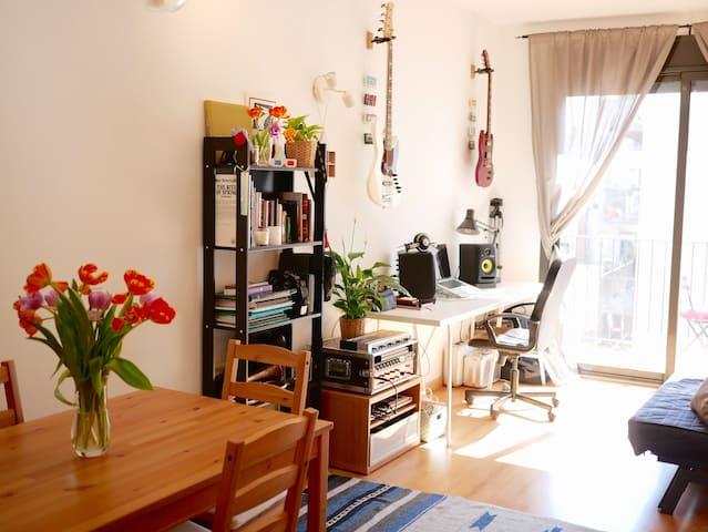 Sunny Oasis in the Center of Barcelona (Raval) - Barcelona - Apartemen
