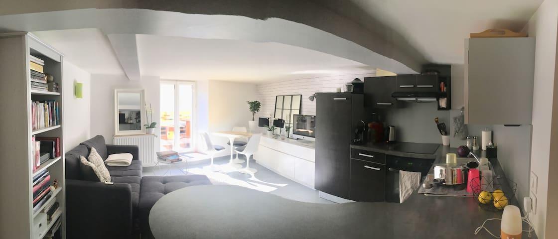 Appartement au centre de Gex, proximité de Genève - Gex - Apartment