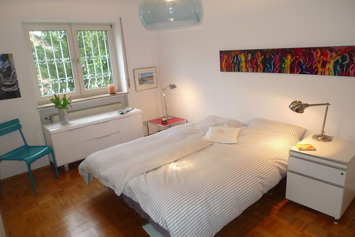 Double room -private bathroom , close to the city