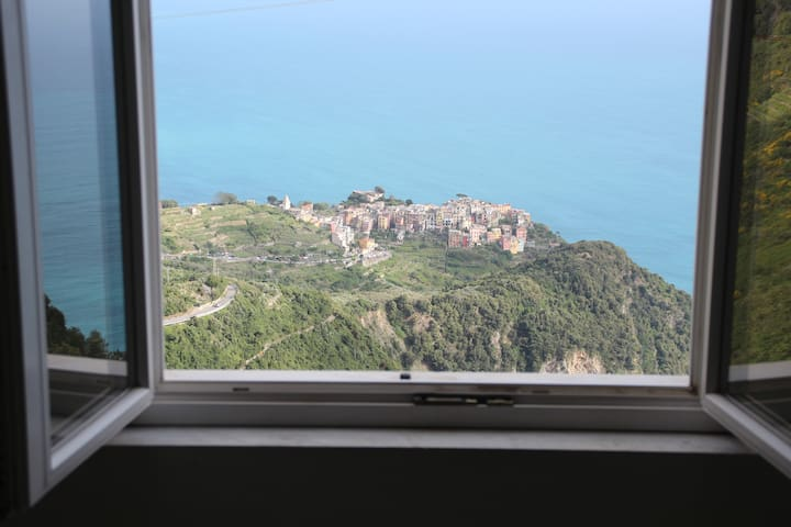 Ines Rooms #02 - Seasight Room in San Bernardino - Vernazza - Apartemen