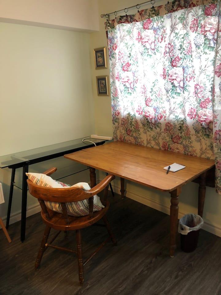 Comfortable studio room