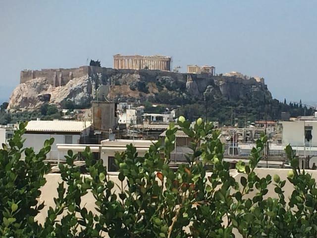 New Loft mesmerizing Acropolis view - Athens