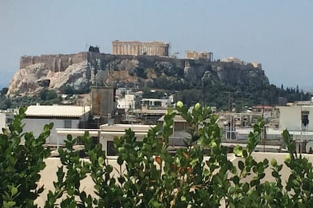 New Loft mesmerizing Acropolis view - 雅典 - 阁楼