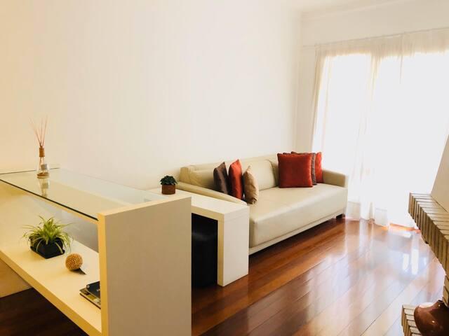 Apartamento clean para até 6 pessoas