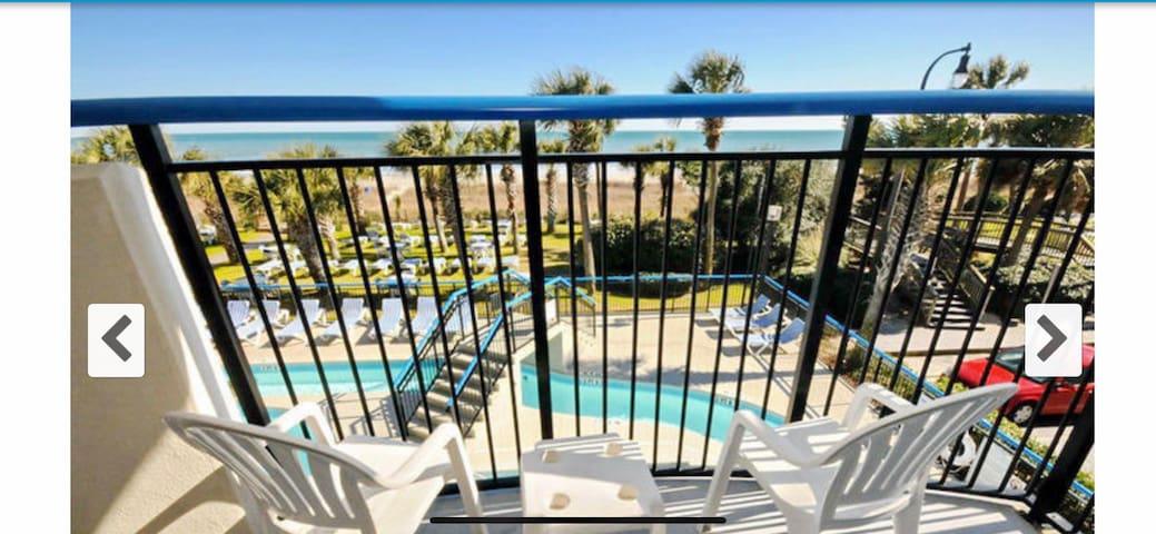 *New listing* for a condo, close to beach & fun.
