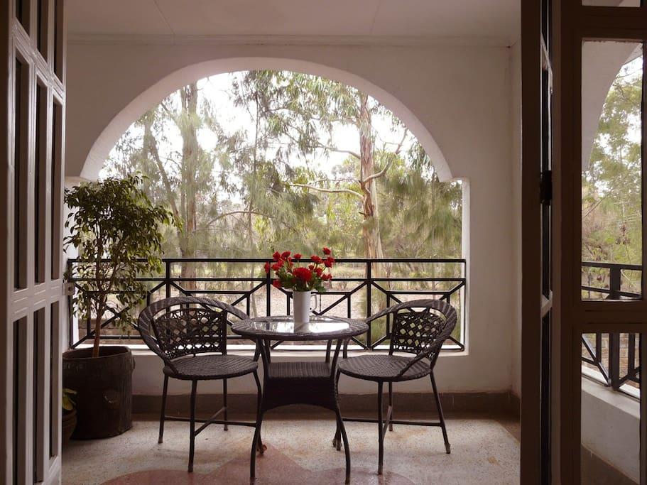 Room 2 private balcony