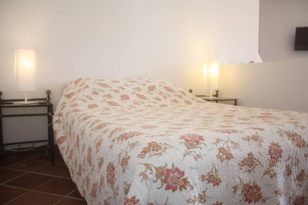 Un bon lit bien confortable