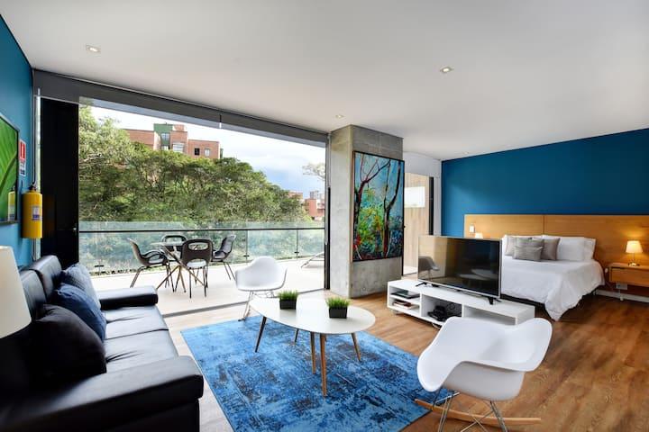 ✅ Energy 1 bed/1 bath + balcony!
