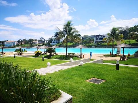 Aqua village lujoso Dpto planta baja Bali II