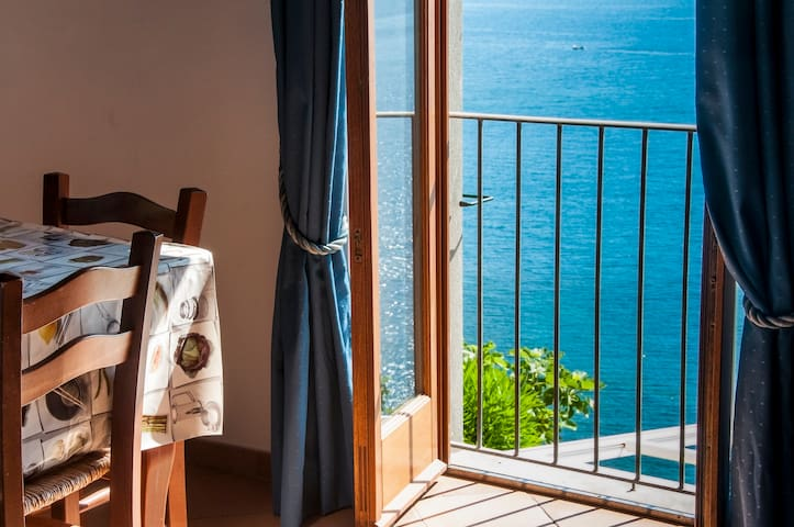 Elba sul mare vista eccezionale 11 - Rio Marina - Apartamento