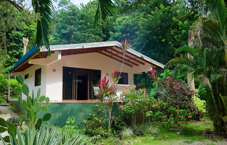Private Bungalow with Pool and Tropical Garden.