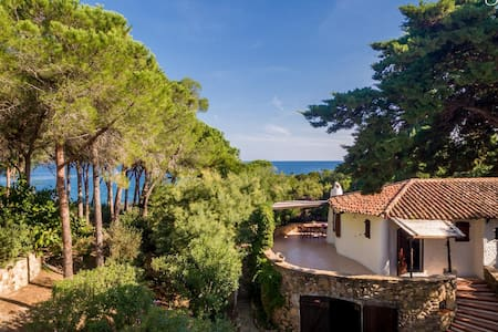 Villa Ammirando Tavolara few steps to the beach - Lu Impostu - Rumah