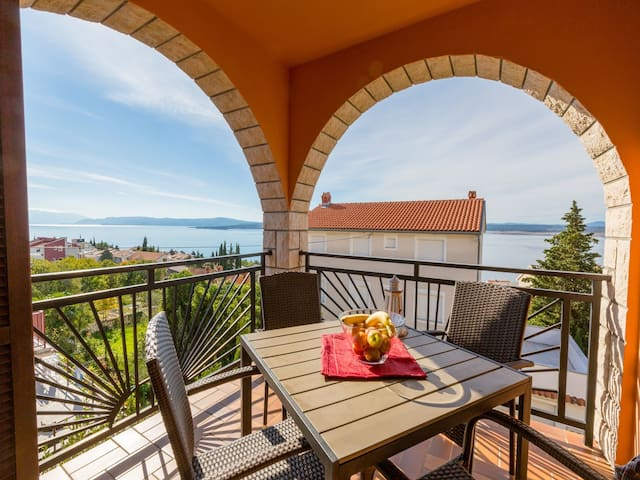 Studio Apartment, in Dramalj (Crikvenica), Terrace