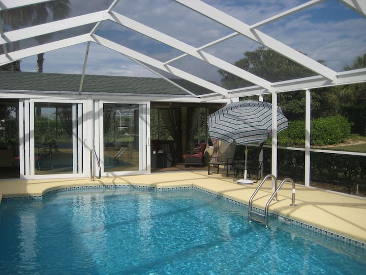 Great house with private pool and Florida room