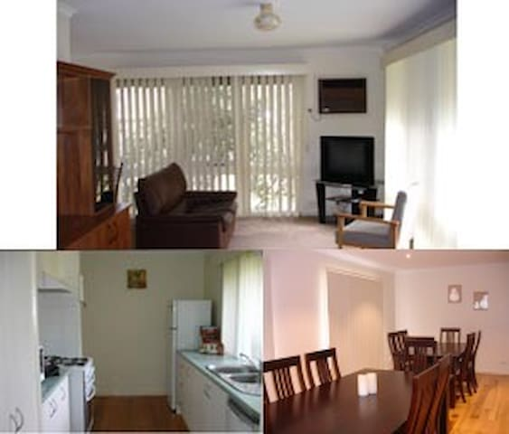 Room 1 - Montservat 2 single beds - Watsonia - Casa