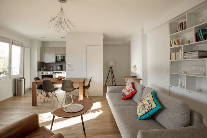 Lovely sunny flat in heart of paris - Paris - Wohnung