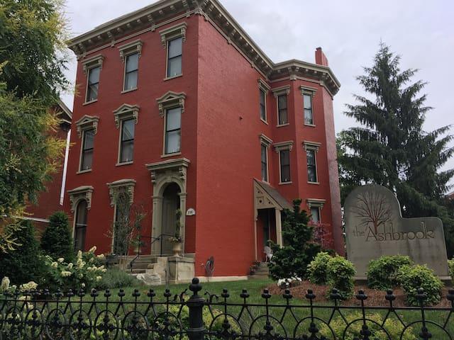 The Ashbrook, A Historical Italianate in Covington