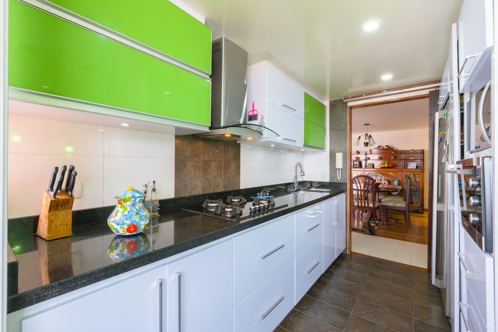 Cocina Kitchen.
