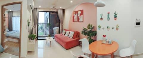 N90-Lucky Homes @Vinhomes Ocean Park @1BR + 1