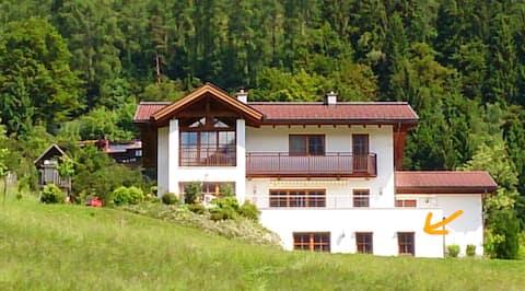 Appartement in den Salzburger Bergen; ruhig,sonnig