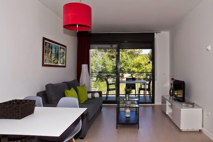 Aparttement avec terrasse et vue sur le parc - Figueres - Appartement