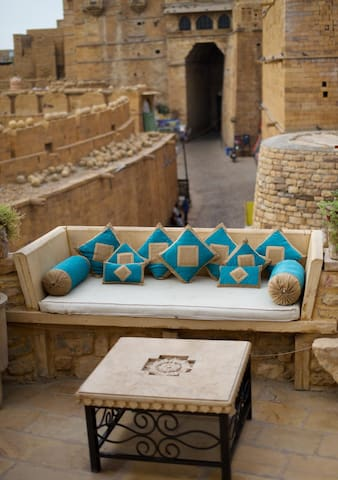 "Royal home stay"" In Jaisalmer Fort!"
