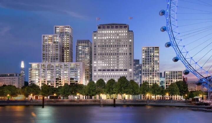 伦敦眼旁高端公寓住宅,一区核心地段,楼下即为Waterloo地铁站,步行6分钟到达大本钟