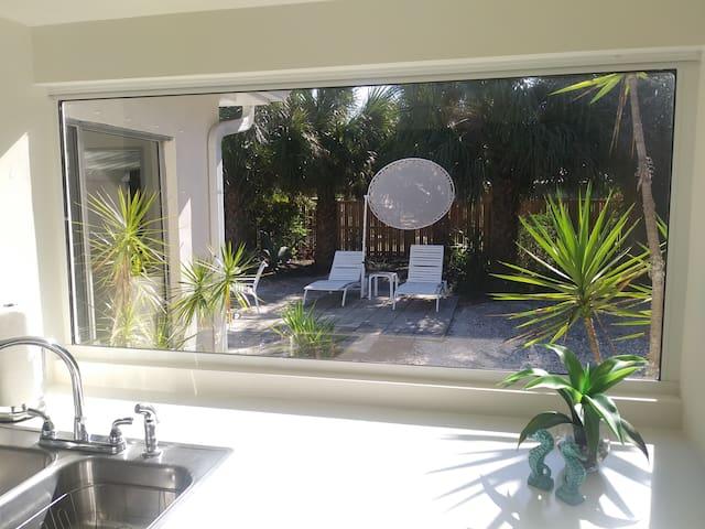 A spot to sun bathe