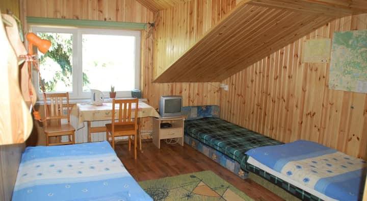 Pokój na piętrze z widokiem