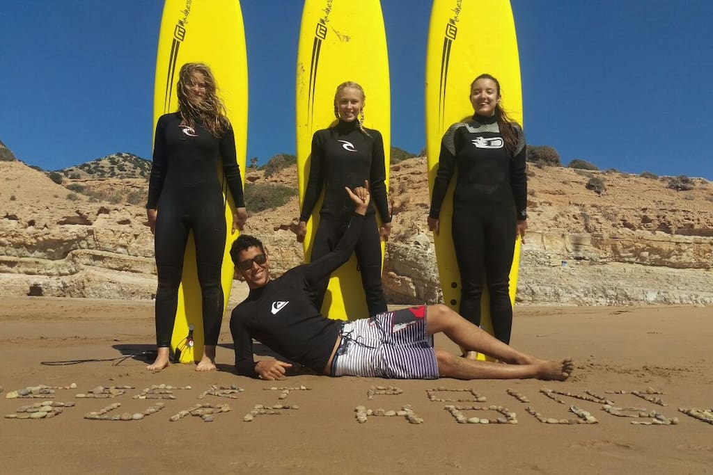 Surfers from Germany