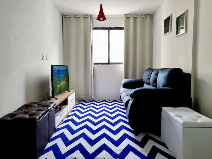 Apartamento aconchegante na Ponta Verde